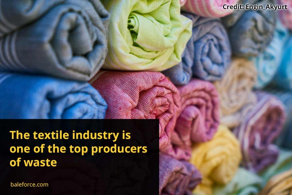 The textile industry is one of the top producers of waste