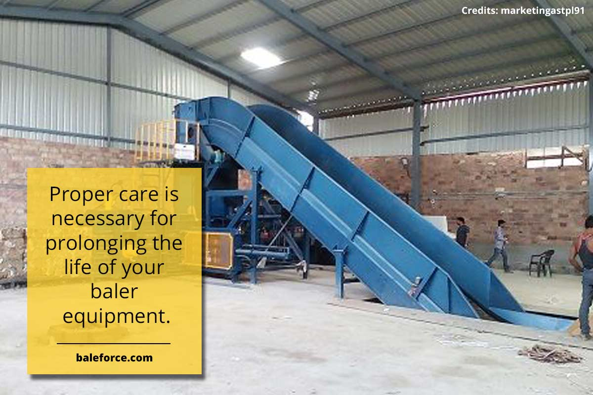 Proper care is necessary for prolonging the life of your baler equipment.