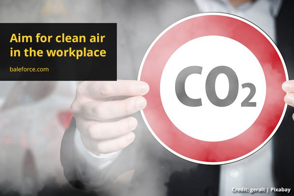 Aim for clean air in the workplace