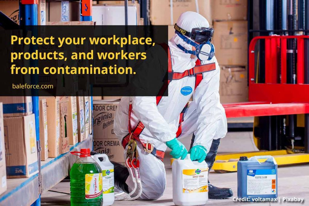 Protect your workplace, products, and workers from contamination