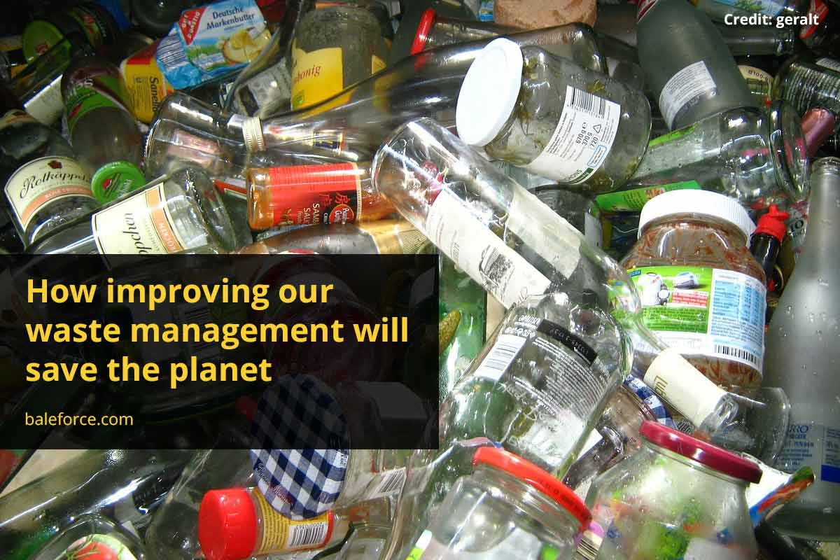 How improving our waste management will save the planet