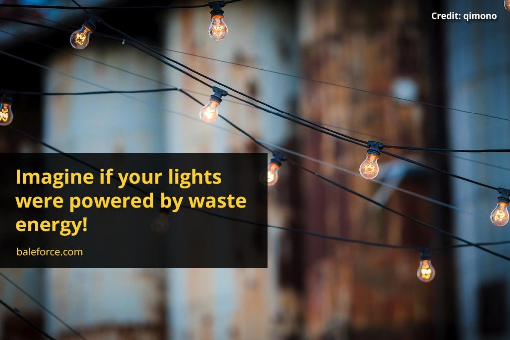 Imagine if your lights were powered by waste energy!